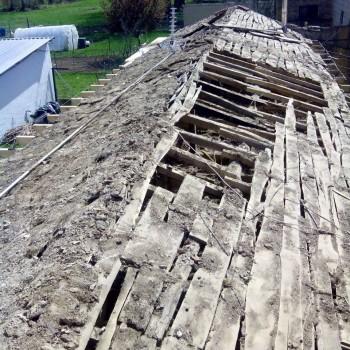 Reconstrucción de tejado