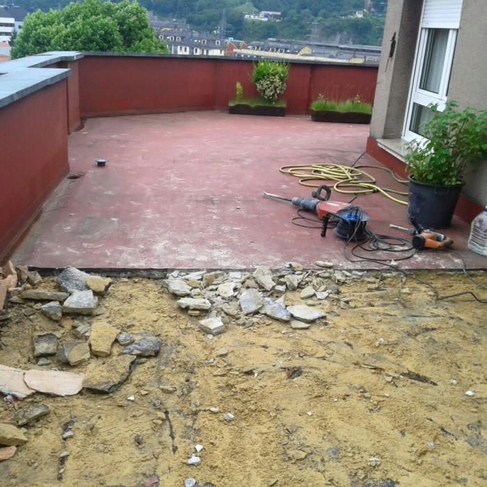 Rehabilitación terraza