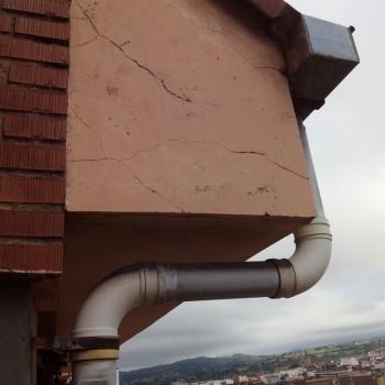Reparación aleros SOS Cubiertas