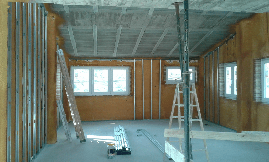 C mo conseguir el mejor aislamiento t rmico en casa - Aislamiento termico techos interior ...