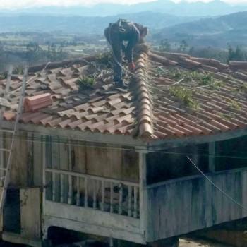 Limpieza techo
