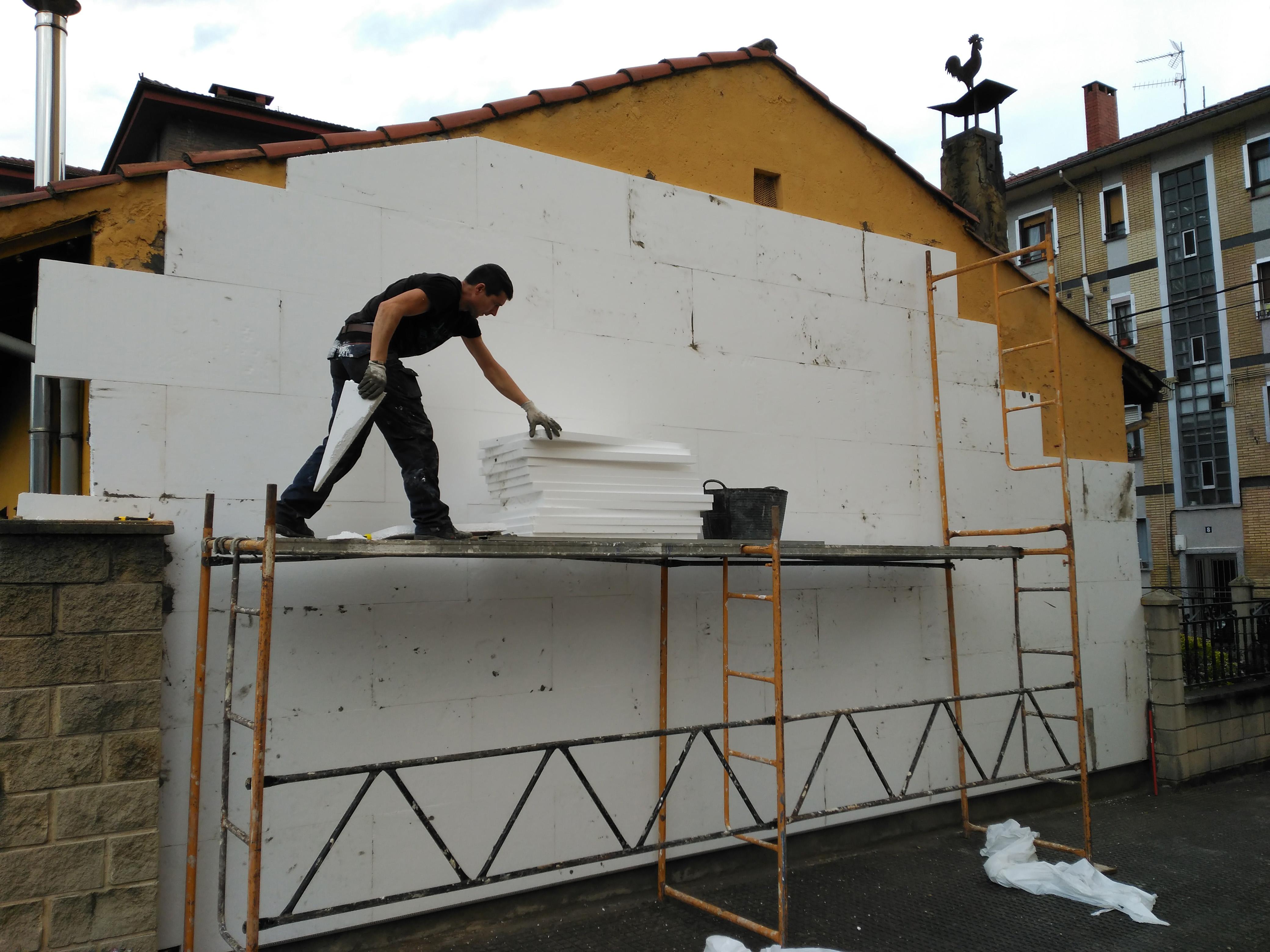 Aislamiento fachada