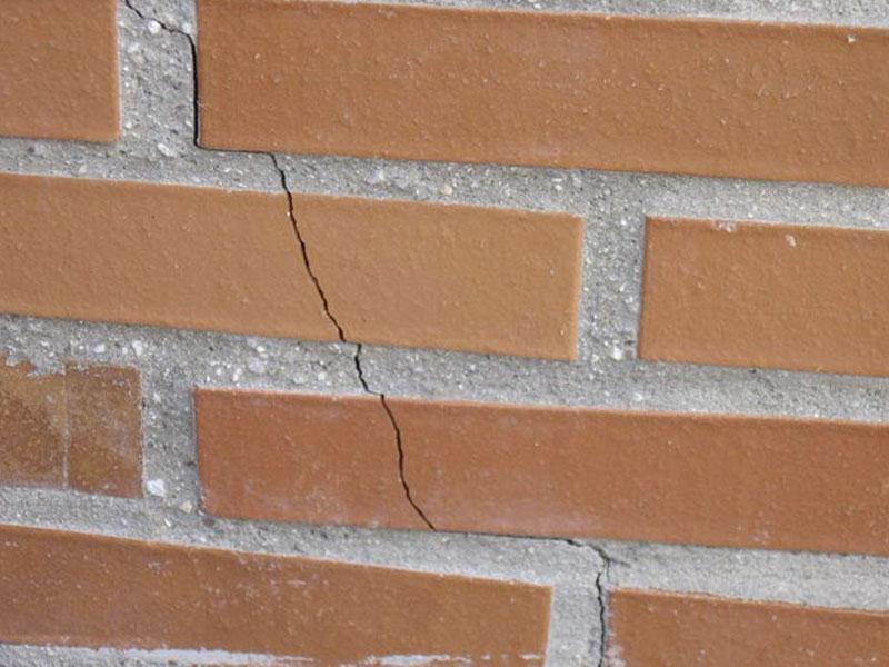 fisuras en fachadas